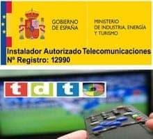 instalador autorizado telecomunicaciones