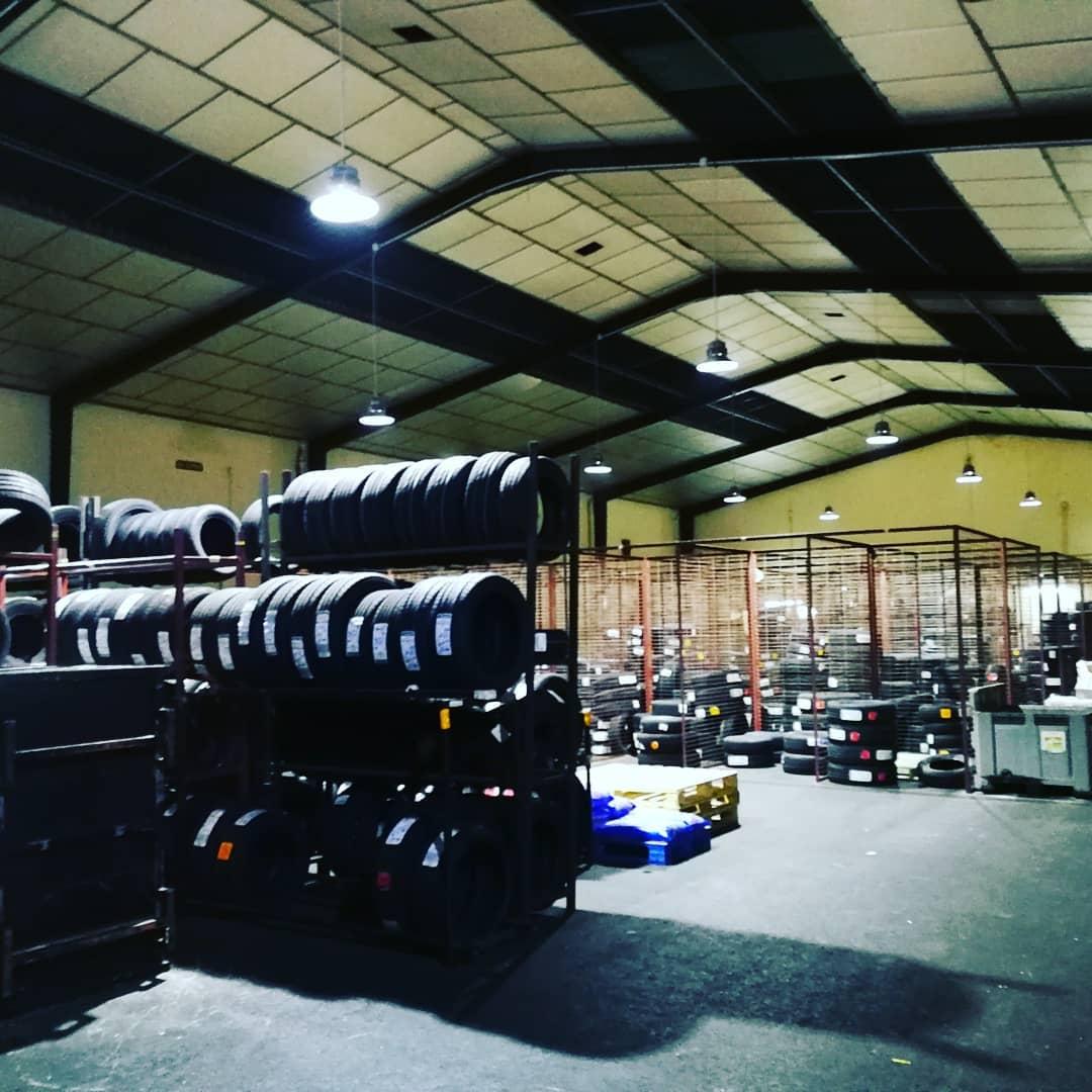 Iluminación led industrial en San Fernando